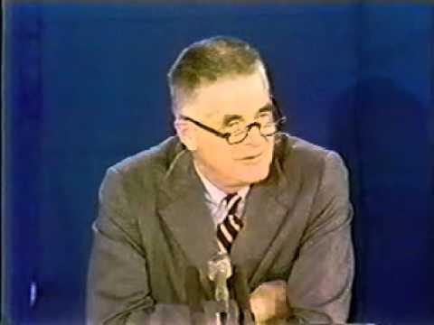 Archibald Cox CBS Special Report Pre-Saturday Night Massacre