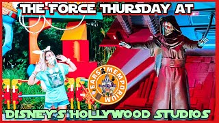 🔴LIVE: The Force Thursday at Disney's Hollywood Studios. Food, Friends, Fun!