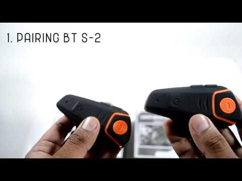 Tutorial Pairing & Radio FM BT-S2