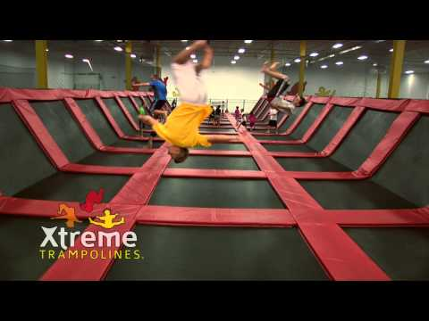 Xtreme Trampolines - New Teenage Basketball Foam Pit Dodgeball Commercial