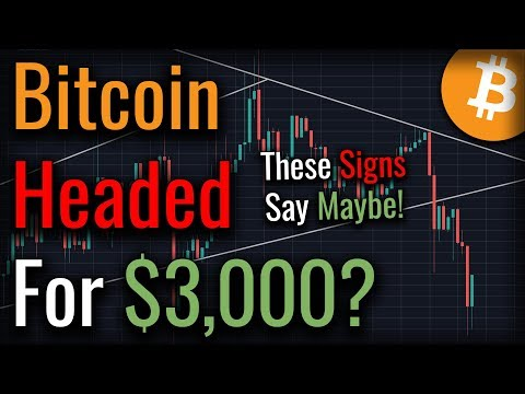 Bitcoin Broke Bearish: Is Bitcoin Headed Back To $3,000?
