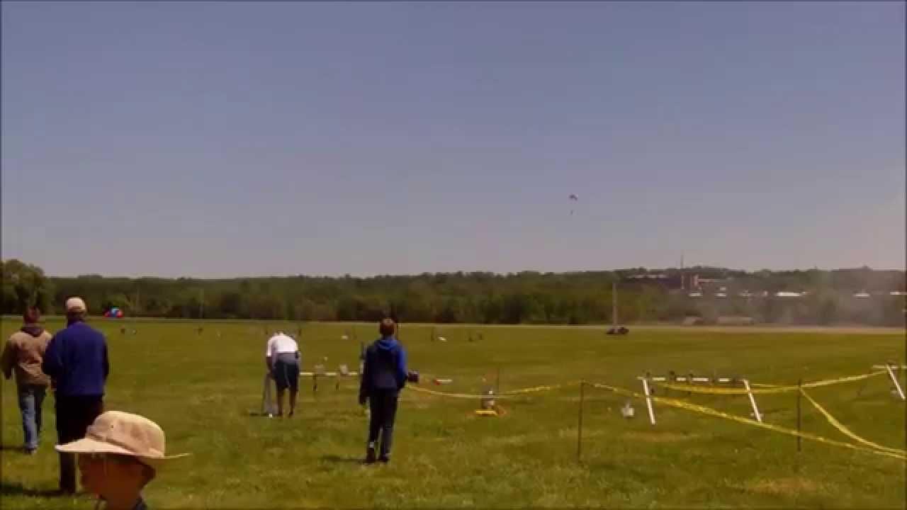 Standard Low-Porosity 1.1 Ripstop Rocket Recovery Parachute Rocketman 8Ft