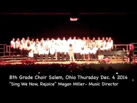 8th Grade Salem, Ohio Choir (Salem Jr. High Holiday Concert)