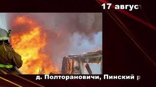 101. Пожарная ситуация в Пинске и Пинском районе (от 22.08.2018)