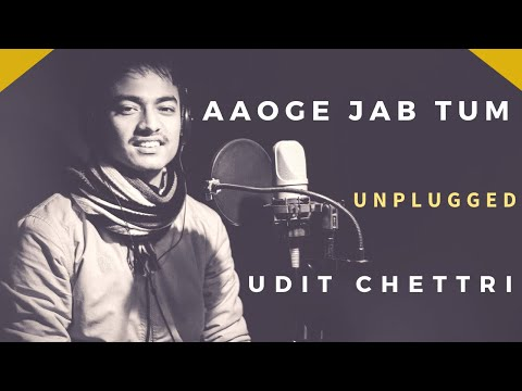 Aaoge Jab Tum | Re-created | New Cover Song | Udit Chettri | Jab We Met