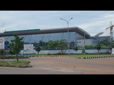 Approaching Akanu Ibiam International airport Enugu