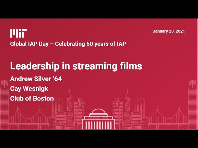 Leadership in streaming films