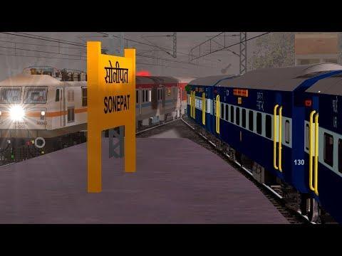 New Delhi - Shri Mata Vaishno Devi Katra Overtake Shri Shakti In MSTS Open Rail