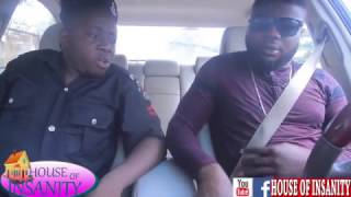 POLICE AND THE SCAMMER (YAHOO BOY) (HOUSE OF INSANITY COMEDY) (EPISODE22)