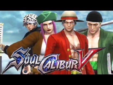 Soul Calibur V - 50 One Piece Character Creation Showcase (SoulCalibur 5)