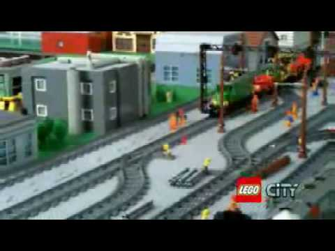 Lego City 2008 Train Collection