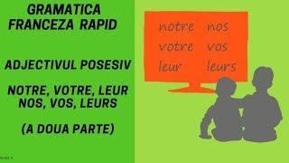 Adjectivul posesiv in limba franceza (2) - Gramatica franceza (2018)