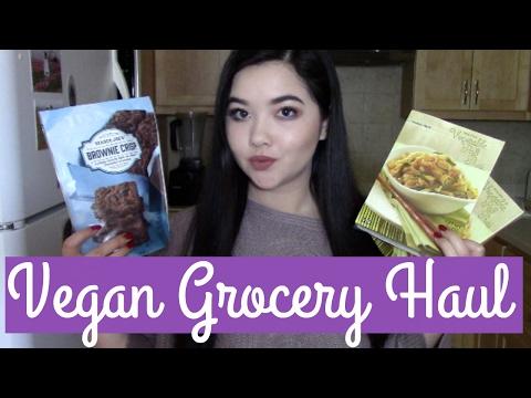 HUGE VEGAN GROCERY HAUL | Trader Joe's and Haggen