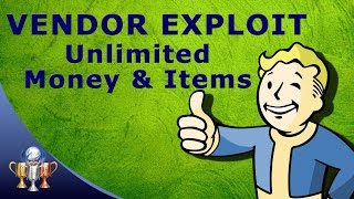 Fallout 4 Vendor Glitch & Exploit - Steal all Caps and Items From Venders [PS4, Xbox & PC]