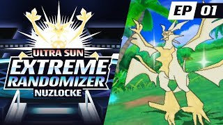 HAU HAS AN ULTRA NECROZMA!?! | Pokemon Ultra Sun EXTREME Randomizer Nuzlocke Part 1