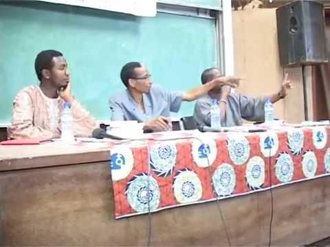 Conférence Débat à l'université de Ouagadougou,Département des Mathématiques 2eme Partie