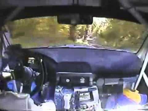 Subaru Impreza WRC   Polish driver got crazy