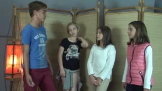 Clara |  Malu | Elisa | Victor