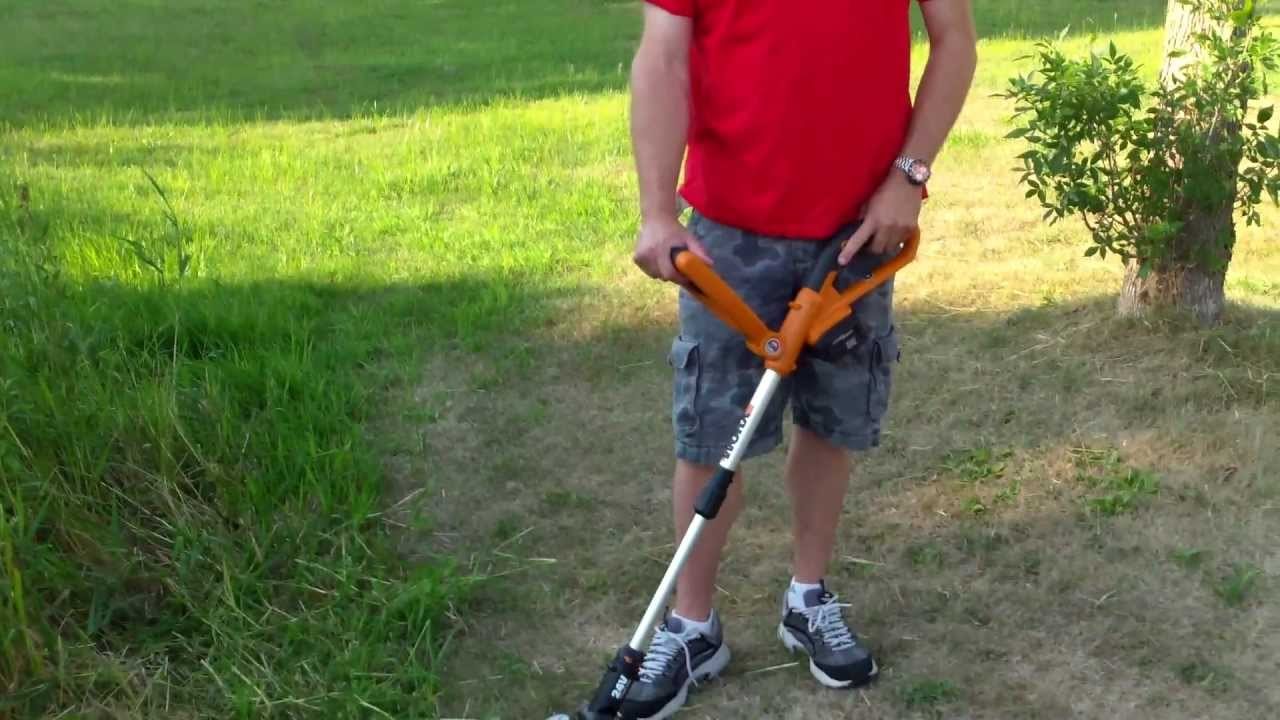 Worx Gt Weed Trimmer Edger Review Youtube