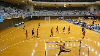 國學院栃木 - 市川 [後半]2019年2月2日(土)第31回関東高校ハンドボール選抜大会