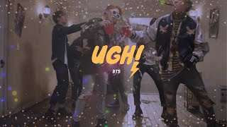 """""""ugh!"""" - bts but you're at a party and the police were called so now you're running away from them"""