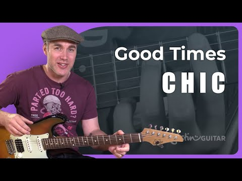 Good Times - Chic (Nile Rodgers) - Guitar Lesson Tutorial (ST-370) How To Play