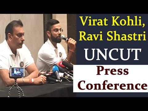 Virat Kohli, Ravi Shastri UNCUT Press Conference ahead of India vs Sri Lanka Series |वनइंडिया हिंदी