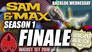 Sam & Max Season One FINALE: Episode 6: Bright Side of the Moon | MugiwaraJM Streams