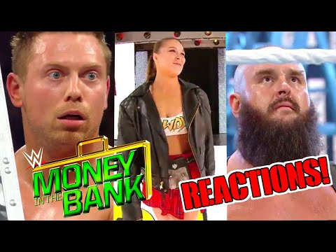 WWE MONEY IN THE BANK 2018 REACTIONS! ELLSWORTH RETURNS TO WWE! SHOCKING RESULTS