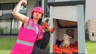 Building My Tiny Dog A Tiny House