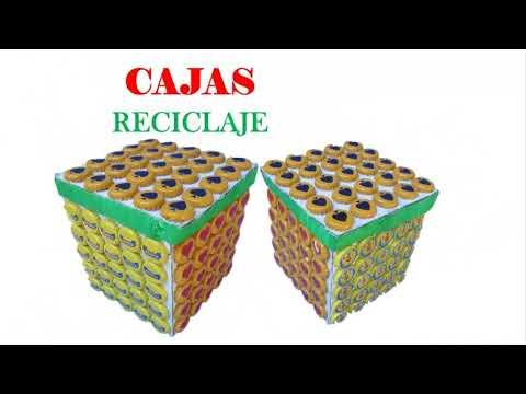 Como decorar una caja de cart n f cil youtube - Como forrar una caja con tela ...