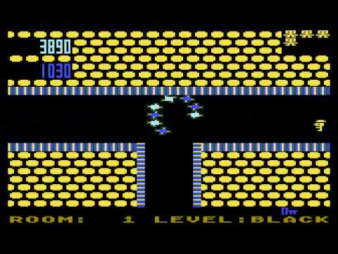 ATARI XE/XL GAME : SHAMUS