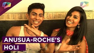 Anusua Chowdhary and Roche Mascarenhas of D4 share their love for Holi