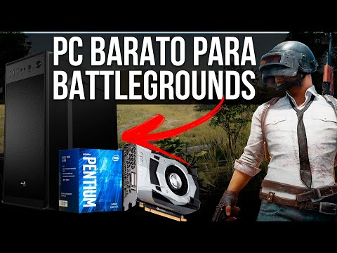 PC BARATO PARA BATTLEGROUNDS | G4560 + GTX 1050 2GB no PUBG | Pichau Informática