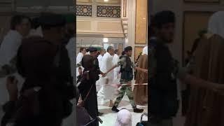 الأمير مولاي رشيد يؤدي مناسك العمرة