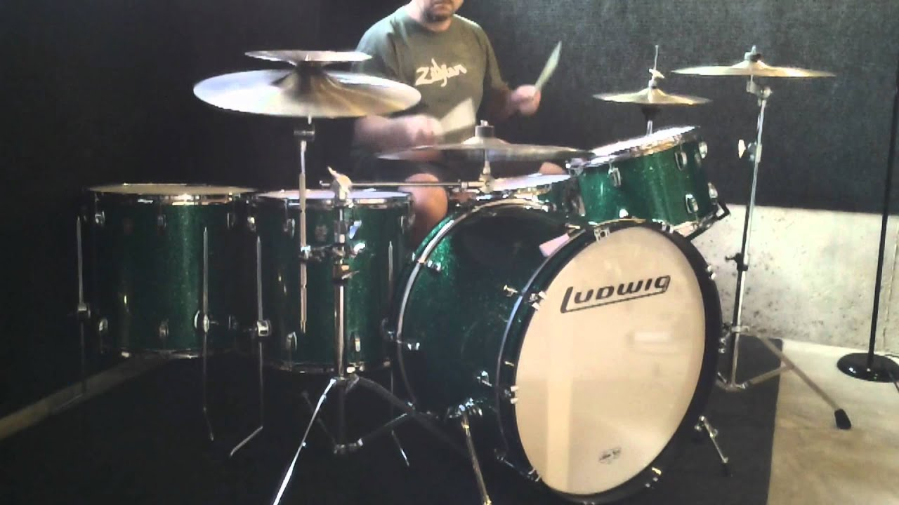 2012 ludwig classic maple drum set 24 bass drum youtube. Black Bedroom Furniture Sets. Home Design Ideas