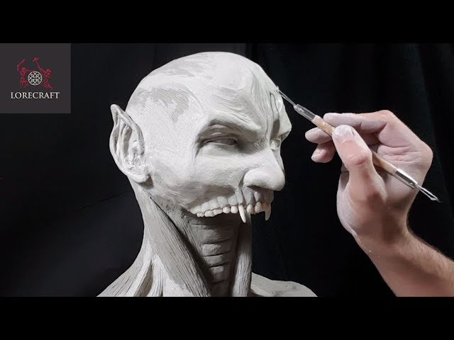Sculpting Raziel - Soul Reaver, Legacy of Kain (UV Special) - Timelapse Sculpt and Airbrush Demo