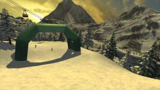 Skiregion-Simulator 2012 GamesCom Trailer