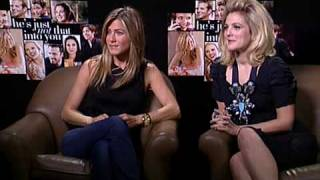 Jennifer Aniston and Drew Barrymore He's Just Not That Into You interview