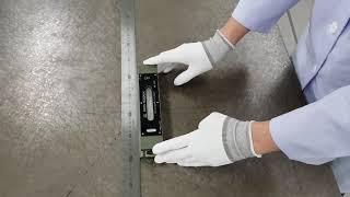 반도체품질측정과 제품응용측정실습 2차원측정기, 수준기B