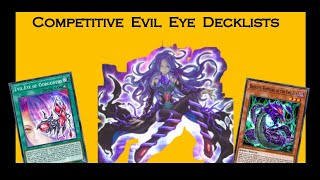 Evil Eye competitive deck builds! Deck breakdown & gameplay [Yu-Gi-Oh! Duel Links]