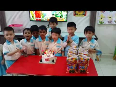 Wong jay yang 2016 birthday party at campus junior kindergarden(1)