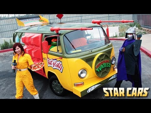 Star Cars Teenage Mutant Ninja Turtle Van Ep Youtube