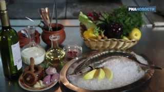 Еда для царей: готовим стерлядь с соусом и гарниром за 12 минут