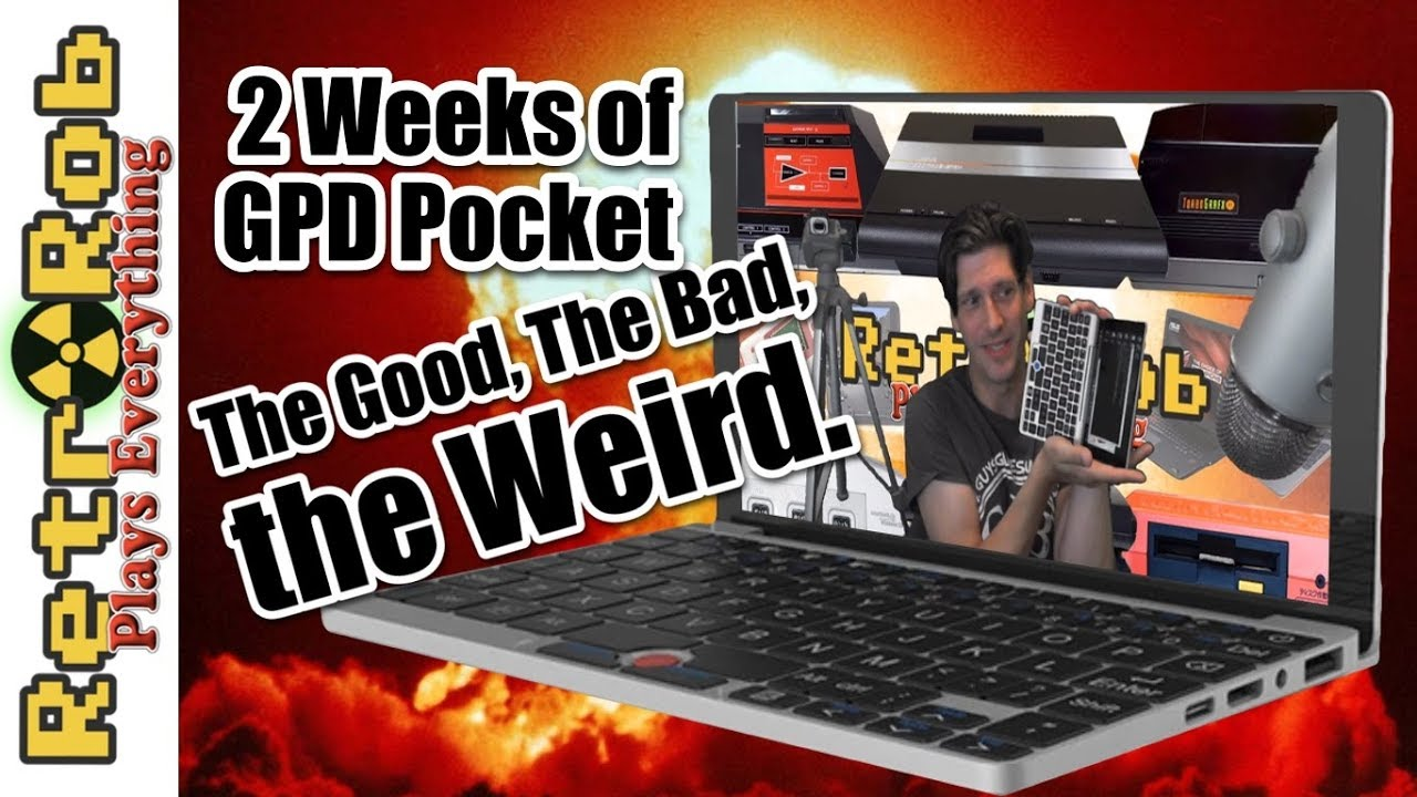 2 Weeks With the GPD Pocket - The Good, The Bad, The Weird