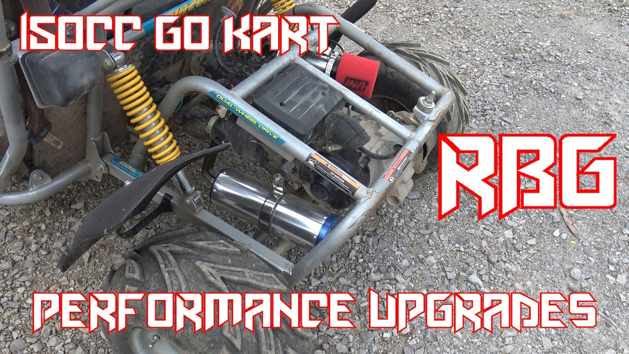 150cc Go Kart Performance Upgrades