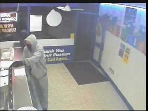 Robbery at Bootle Chip Shop - Recorded in CCTV