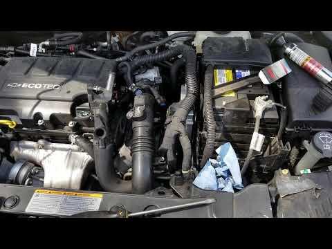 2010 Chevy Cruze Coolant Fan Running High Blast Problem Fix