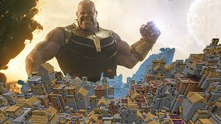 INFINITY WARS MINECRAFT THANOS DESTRUCCIÓN TOTAL - AVENGERS MINECRAFT MODS