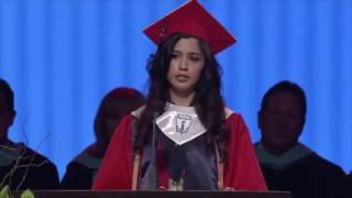 UNDOCUMENTED IMMIGRANT DELIVERS POWERFUL GRADUATION SPEECH